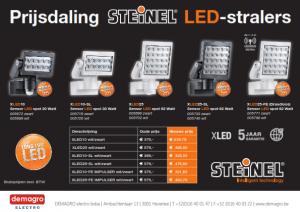 Professionele LED-stralers prijsdaling 01072015_001