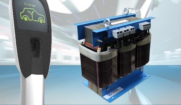 Transformatoren voor laden van elektrische wagens