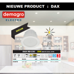 Nieuw van Indigo Lighting, de DAX downlight