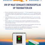 Solar Power Boozt: Thuisbatterijen voor je zonnepanelen